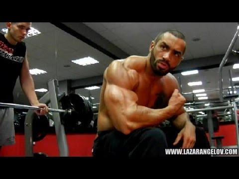 Lazar Angelov Chest Workout Video 2013