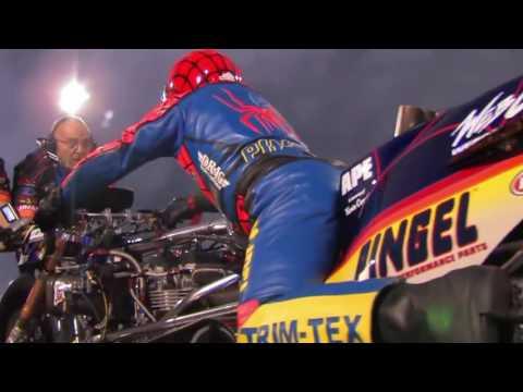 Motor tercepat di dunia, spyder team amerika TOP fuel NITROUS 232 mpH