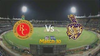 IPL Royal Challengers Bangalore vs Kolkata Knight Riders match highlights 2 may 2016 RCB Vs KKR