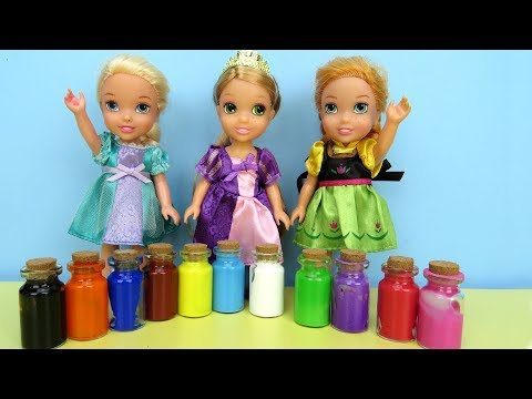 Xxx Mp4 PAINTING Elsa And Anna Toddlers Play With Colors Footprints 3gp Sex