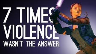 7 Times Violence Wasn