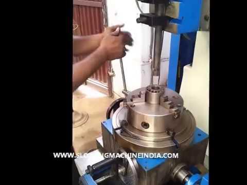 VERTICAL SLOTTING MACHINE DS 250 MM DALJIT MACHINE TOOLS PVT LTD.wmv