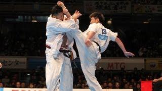 【新極真会】第42回全日本選手権大会4回戦1 SHINKYOKUSHINKAI KARATE
