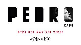 Pedro Capó - Otro Día Más Sin Verte (Audio)