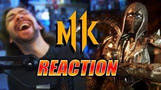 MAX REACTS: Noob Saibot - Reveal Trailer (Mortal Kombat 11)