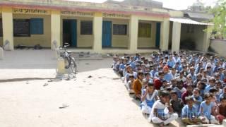 Indian Village Girls Government School,Junjani,Bhinmal,Jalor,Rajasthan,India.Girl Schools.भीनमाल