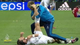 El sufrimiento en los últimos minutos de la final de Champions