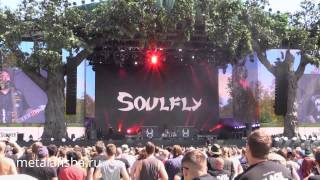 Soulfly - Live in Hyde Park, London 04.07.2014