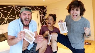 GIRLFRIEND PAINFULLY WAXES OUR BODY HAIR!!