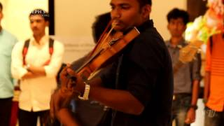 First Time In India by an Academic Institution..!! Instrumental FlashMob