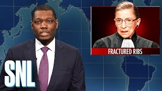 Weekend Update: Justice Ruth Bader Ginsburg Hospitalized - SNL
