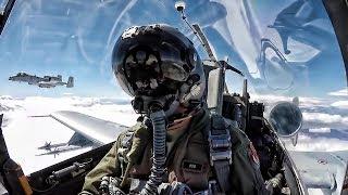 A-10 Thunderbolt II • In-Flight Cockpit Video