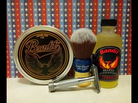Segal Unitary Razor, Dr  Jon's Bandit and Beaver Woodwright Banit aftershave