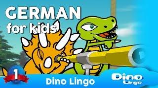 German for kids DVD set - Children learning German - Deutsch für kinder - Germany
