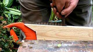 How to make a saw for cutting out brickwork pointing