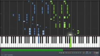 Comet Lucifer (コメット・ルシファー) PV Song [by TRUE] - Story of Lucifer (Piano Synthesia + Sheet)