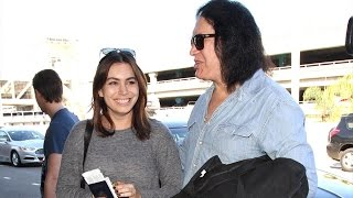 Gene Simmons And Family Head Out For The Kiss Kruise