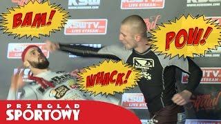 Artur Sowiński jak Kung Fu Panda! Wyjątkowy trening KSW!