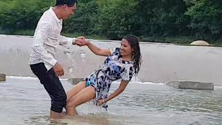 Hot shooting footage mamta sharma & arjun Khadka