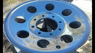 How To Sand And Polish Aluminum Rim To Mirror Finish