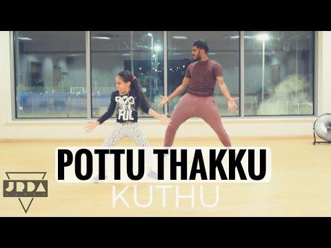 Pottu Takku   Kuthu Dance Cover Silambarasan Simbhu @ JeyaRaveendran Choreography