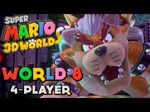 Super Mario 3D World - World 8 (4-Player)