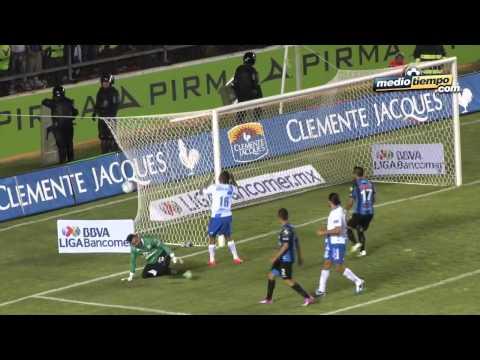 Los goles del Querétaro vs Puebla 1 1