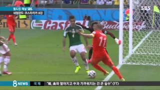 [월드컵] 후반 43분부터 2골!...네덜란드 짜릿한 역전승 (SBS8뉴스|2014.6.30)