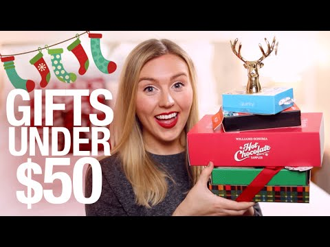 Holiday Gift Ideas + Stocking Stuffers UNDER $50 | Gift Guide 2015