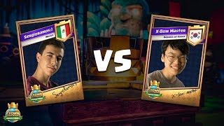 CCGS World Finals Round 1 - SergioRamos_) vs X-Bow Master