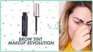 TINTA PEEL OFF SOPRACCIGLIA?! Brow Tint Makeup Revolution  | Test & Tell