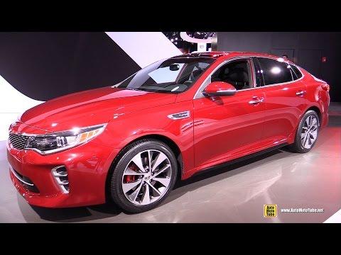 2016 KIA Optima SX T-GDI - Exterior and Interior Walkaround - Debut at 2015 New York Auto Show
