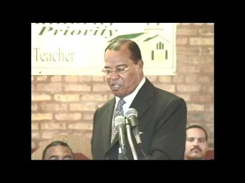 Powerful Message by Farrakhan Message to West Side Baptist Ministers