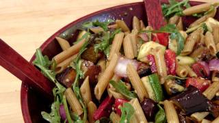 Grilled Veggie Pasta Salad - Recipe by Laura Vitale - Laura in the Kitchen Episode 130