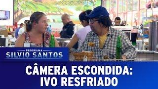 Câmera Escondida (15/05/16) - Ivo Resfriado