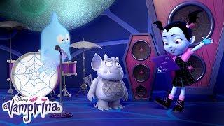 Bat Chat: Ghoul Girls on Tour Part 2 | Vampirina | Disney Junior