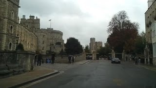 Driving in the UK - Slough to Windsor Castle