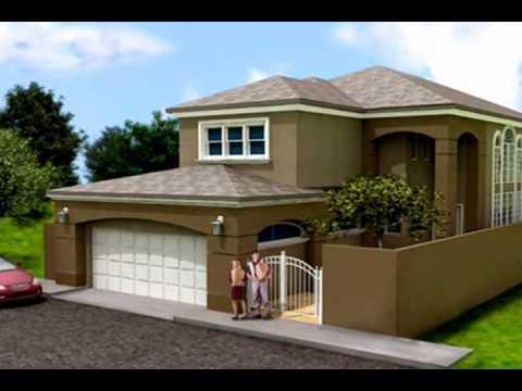 Planos de Casas Modelo San Aaron 01 Arquimex Planos de Casas