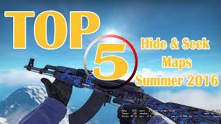 CS:GO TOP 5 Hide & Seek Maps Summer 2016!