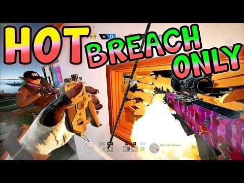 HOT BREACHING OBJECTIVES - Rainbow Six Siege (Velvet Shell)
