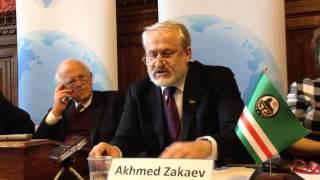 Akhmed Zakayev 'Chechnya and Vladimir Putin's Rise to Power'