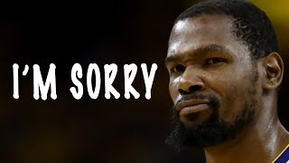 Kevin Durant APOLOGIZES To Instagram Troll!