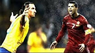 Cristiano Ronaldo Vs Zlatan Ibrahimovic ● Battle For Best Goals Ever HD   YouTube 360p