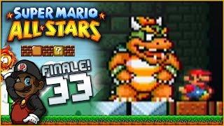 "Super Mario All Stars (100%) - Part 33 | ""#BowserBars"" (Super Mario Bros 3) [FINALE!]"