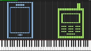 Cell Phone Ringtones [Piano Tutorial] (Synthesia) // Anifuse