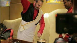Matt Hardy makes a mean cup of Kaapi in Chennai, India