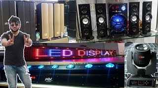 Electronic market delhi Exploring speakers, dj lights, electronic accessories, Lajpat rai market