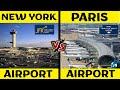 New York City Airport VS Paris Airport | Airport Comparison 2020 | Placify