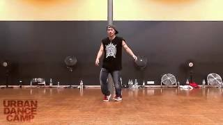 Footwork Demo / Hiro Suzuki Freestyle House Streetdance / URBAN DANCE CAMP