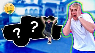 YOUTUBE, I BET YOU WONT BELIEVE WHAT CAR I BOUGHT HIM!! **emotional**